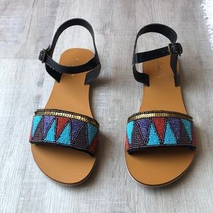 Beautiful studded sandals